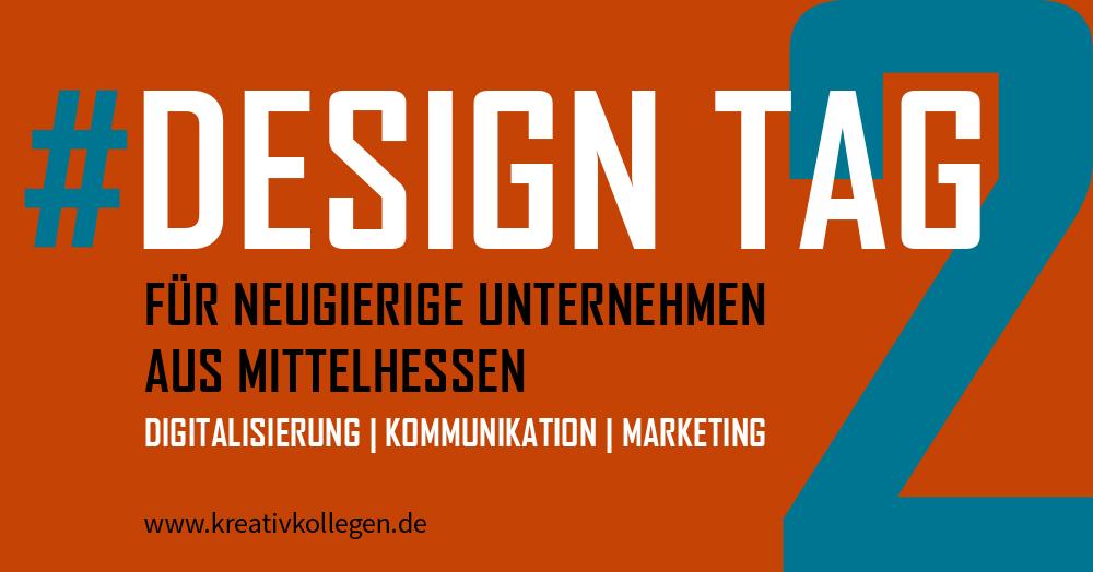 Designtag #2 am 26.10.2017 für neugierige Unternehmen aus Mittelhessen