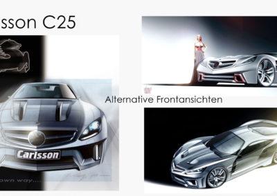 Varianten Front/schräg